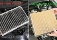 how often should an engine air filter be changed Cabin Filter Vs Air Filter