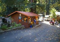 kiosk picture of big sur campground cabins big sur tripadvisor Big Sur Cabins And Campground