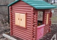 little tikes log cabin playhouse for sale in bartlett illinois Little Tikes Cabin Playhouse