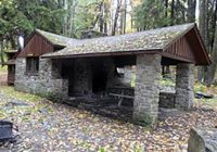 lodging locations map Promised Land State Park Cabins