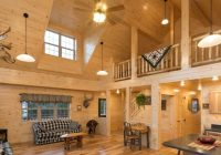 log cabin interior ideas home floor plans designed in pa Decorating A Small Cabin Loft