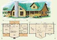 log cabin plans with loft shining ideas home house deco stunning Log Cabin House Architectural Design And Floorplans