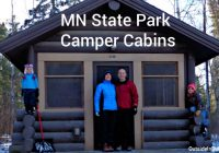 mn state park camper cabins a perfect winter retreat Whitewater State Park Cabins