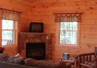 new hocking hills cabin rental with satellite tv and fireplace Lazy Lane Cabins Hocking Hills