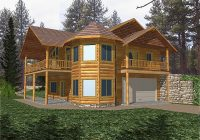 normandy peak rustic home plan 088d 0180 house plans and more Two Story Log Cabin Layouts