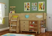 ollie modern childrens storage mid sleeper cabin bed in oak Kids Cabin Beds With Storage