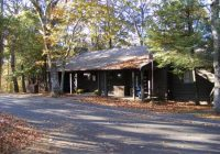 outdoor view of cabin picture of lewis mountain cabins shenandoah Cabins Near Shenandoah National Park