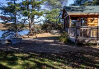 photo of van riper state park michigan camper cabin available on Michigan State Parks Cabins
