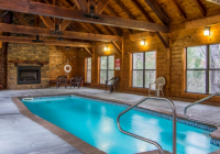 pigeon forge private heated indoor swimming pool cabin Cabins With Private Indoor Pools