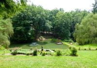 pond at willow winds picture of asheville cabins of willow winds Asheville Cabins Of Willow Winds