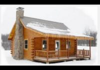 pre built hunting cabins under 10000 youtube 20×30 Prefab Cabin On Youtube