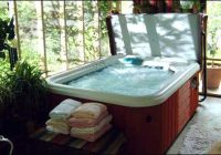 private hot tub jucuzzi 2 wee cottages fredericksburg tx Cabins With Hot Tubs In Texas