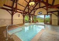 private indoor pool cabin with a view pool on summit point youtube Cabins With Private Indoor Pools