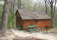 quick weekend cabin getaways available dnr news releases Iowa State Parks With Cabins