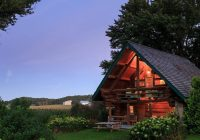 romantic bb cabins in wisconsin organic farm getaway Secluded Cabins In Wisconsin