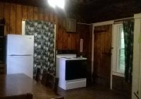 rustic cabin 8 kitchen picture of promised land state park Promised Land State Park Cabins