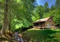 secluded creekside cabin in smoky mountains near bryson city and Secluded Cabins In Smoky Mountains
