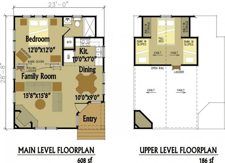 Permalink to Cozy Cabin Floor Plans With Loft Inspirations
