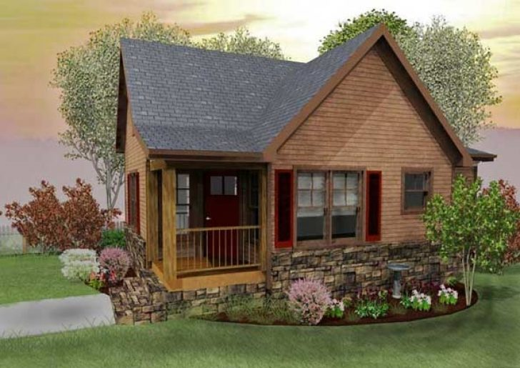 Permalink to Elegant Small Mountain Cabin Plans With Loft Ideas