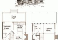 small cabin floor plans free prcarpro Free Small Cabin Plans With Loft
