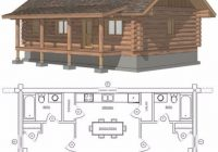 small cabin plan with loft small cabin house plans small cabin floor Small Cabin With Loft Floor Plans