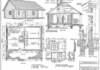 small cabin plans Small Cabin Plans With Loft Free