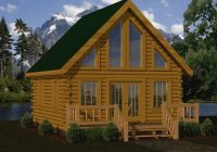 small log cabin kits floor plans cabin series from battle creek tn Two Story Log Cabin Layouts