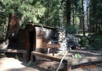 tharps log cabin near crescent meadow picture of crescent meadow Cabins Near Sequoia National Park