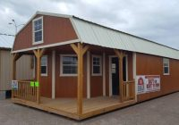 the beeville news 250959 16×40 deluxe lofted barn cabin general Deluxe Lofted Barn Cabin For Sale