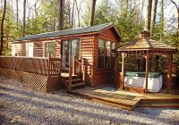 the dakota cabin campers paradise campground cabins cook Cooks Forest Cabins With Hot Tubs