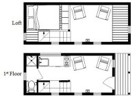 the mcg tiny house with staircase loft photos video and plans Tiny Cabin Floor Plans With Loft