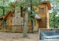 this log cabin lil treehouse a vacation rental branson close Branson Vacation Cabins Branson Mo