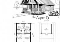 tiny house floor plans small cabin floor plans features of small 2 Bedroom Cabin Plans With Loft