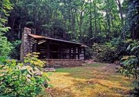 travelers save in september at many west virginia state parks West Virginia State Park Cabins