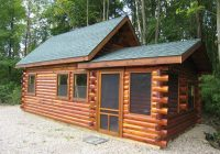 trophy amish cabins llc cottageoptional items in red text Buy A Small Cabin Already Built