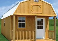 wacobuildings affordable quality storage buildings barns Deluxe Lofted Barn Cabin Price