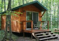 washington island campground located in beautiful door county wi Cabin Camping In Wisconsin